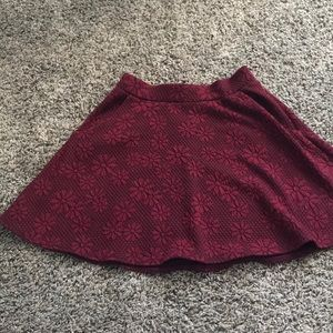 Short skirt with pockets